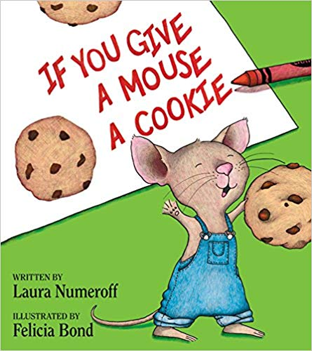 If You Give a Mouse a Cookie book for children.