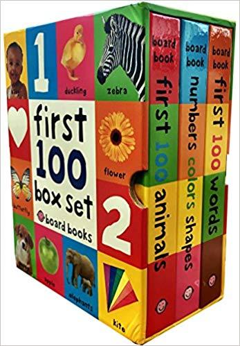 First 100 book box set.