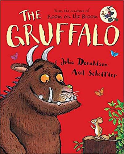 The Gruffalo children\'s book.