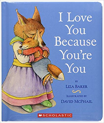 Book Cover for I Love You Because You\'re You.