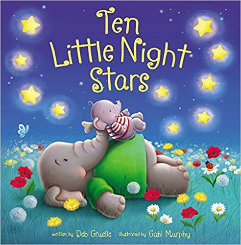 Ten Little Night Stars baby book.
