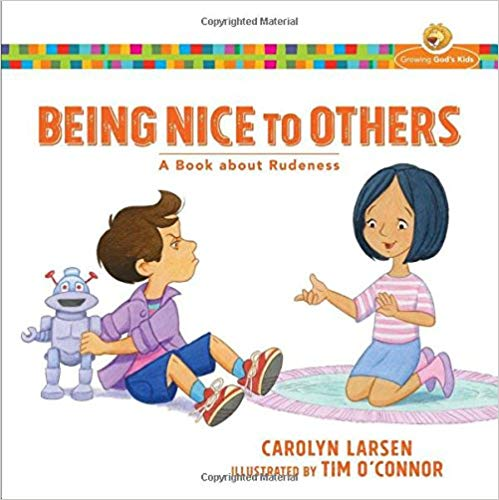 Book cover for Being Nice to Others book.