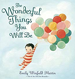 The Wonderful Things You Will Be children\'s library book.