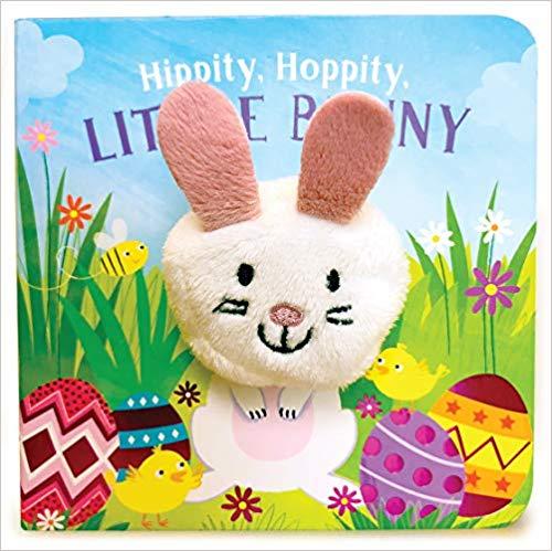Hippity Hoppity Little Bunny Easter book.