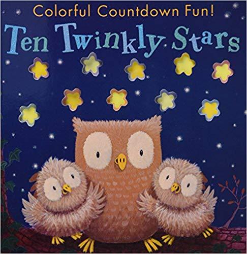 Ten Twinky Stars book for kids.