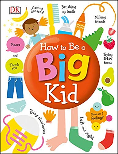 How to Be a Big Kids children\'s book.