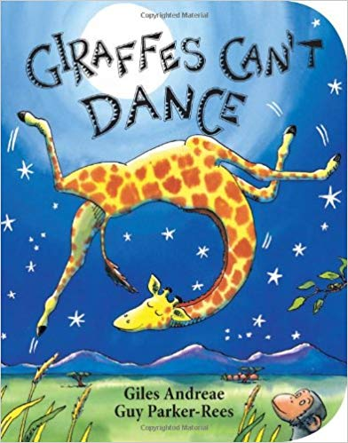 Giraffe\'s Can\'t Dance book for kids.