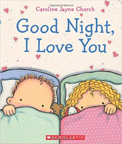 Good Night, I Love You book cover.