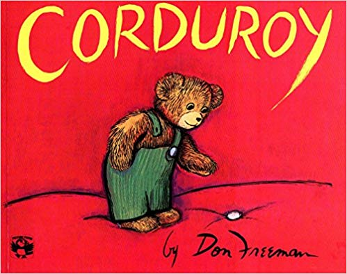 Corduroy children\'s book cover.
