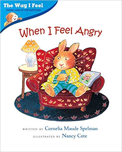 Book cover for When I Feel Angry book.