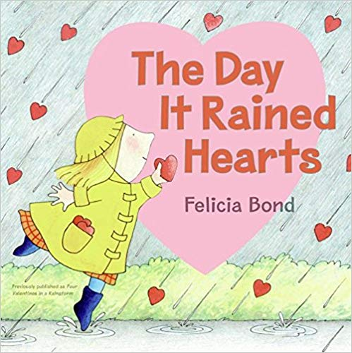 The Day it Rained Hearts book for kids.