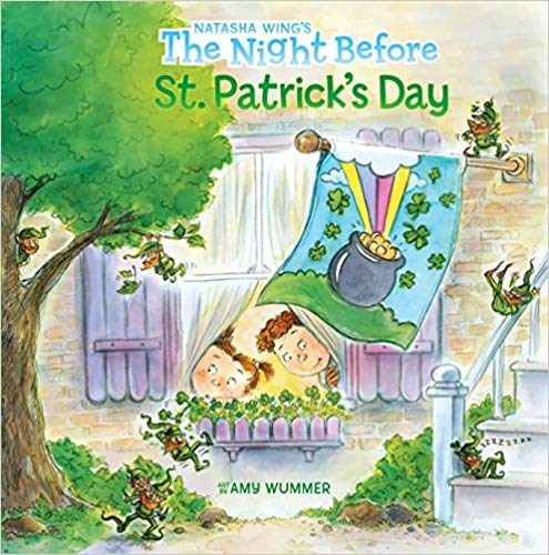 St. Patrick\'s Day library book for babies.