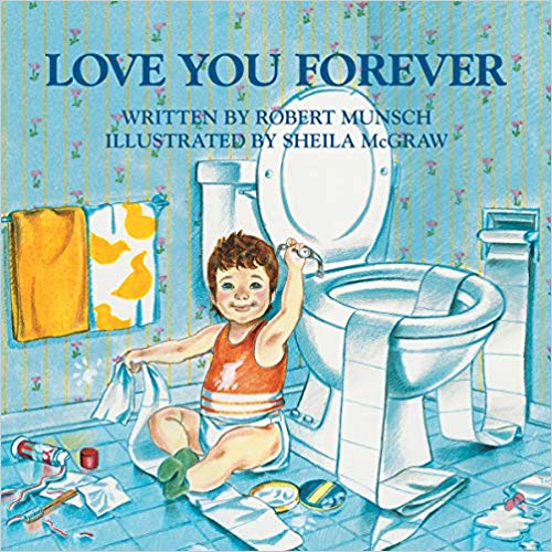Love you Forever book for children.