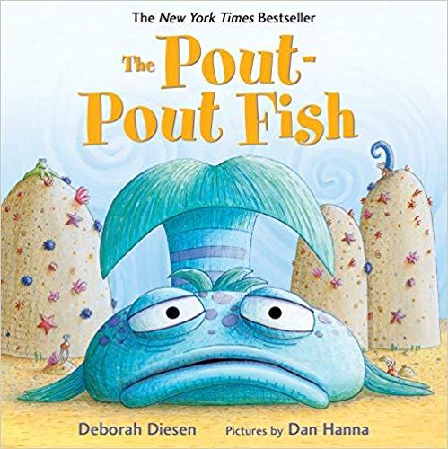 The Pout-Pout Fish book for babies.