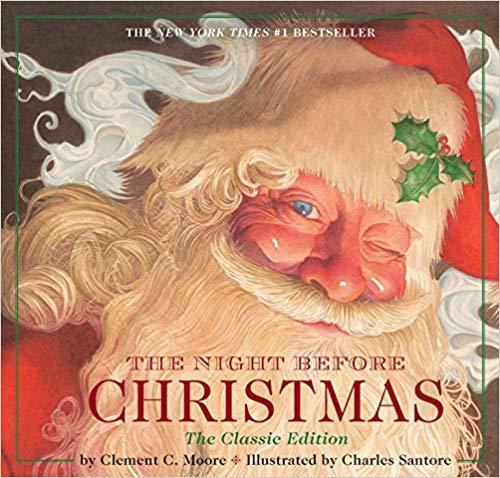 The Night Before Christmas children\'s book.