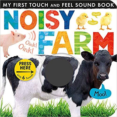 Noisy Farm book for baby library.