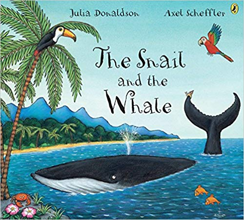 The Snail and the Whale children\'s book.