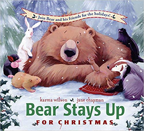 Bear Stays Up For Christmas baby book.