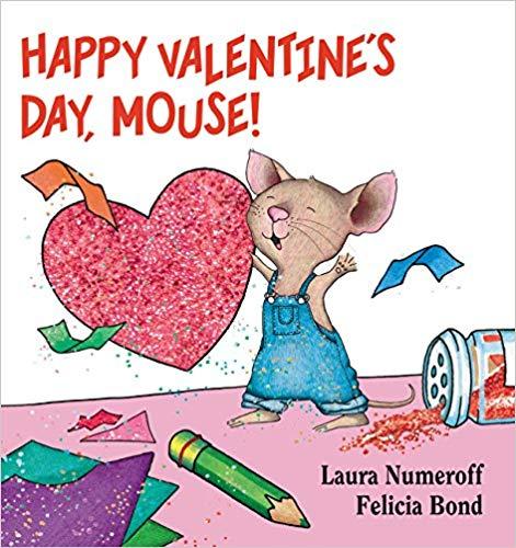 Happy Valentine\'s Day, Mouse! children\'s book.