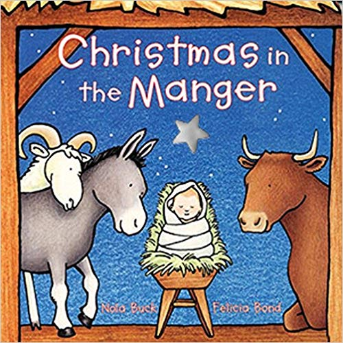 Book cover for Christmas in the Manger.