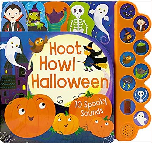 Hoot Howl Halloween book children.