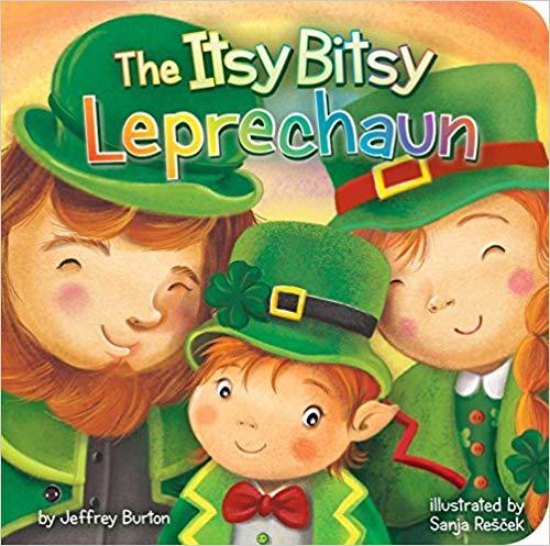 The Itsy Bitsy Leprechaun baby library book.