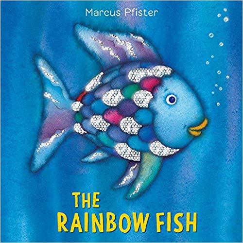 The Rainbow Fish children\'s book.