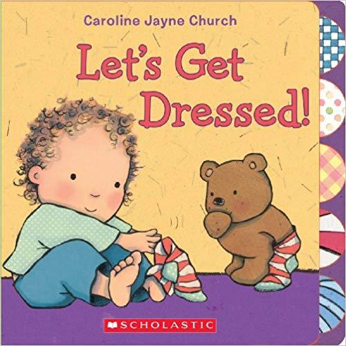 Let\'s Get Dressed children\'s book.