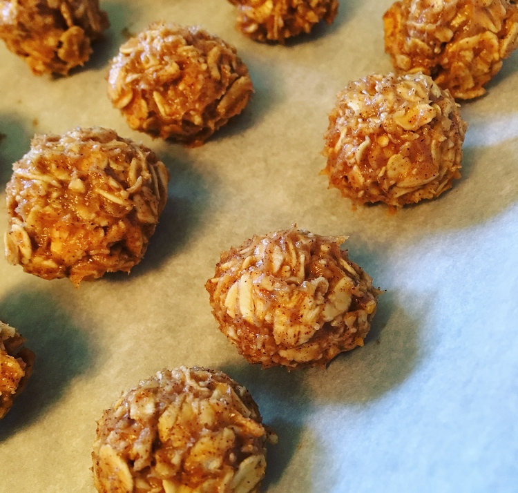 Homemade granola clusters snacks.