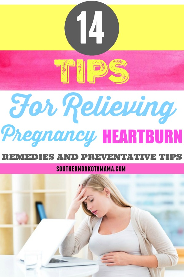 Tips For Relieving Heartburn During Pregnancy